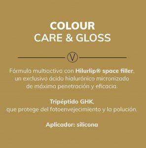 balsamo reparador colour & gloss de volumax