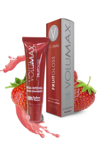 hidratante de labios sabor fresa de volumax