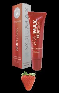 hidratante para labios volumax sabor fresa