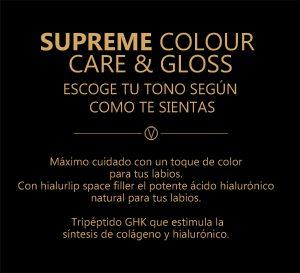 caqracteristicas de colour supreme care gloss