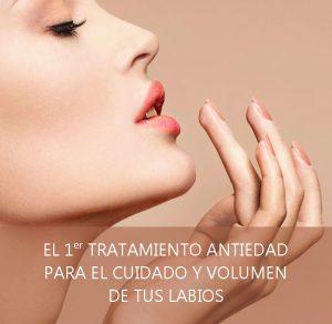 tratamiento antiedad para el cuidado y volumen de labios volumax